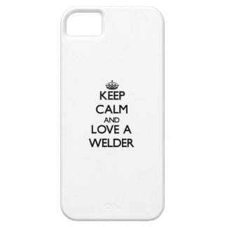 Keep calm and trust your Welder iPhone 5 Case