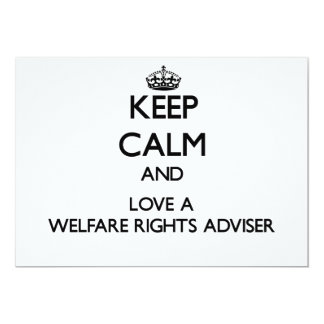 Keep calm and trust your Welfare Rights Adviser Card