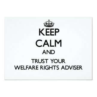 Keep Calm and Trust Your Welfare Rights Adviser Announcements