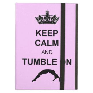 Keep calm and tumble gymnast case for iPad air
