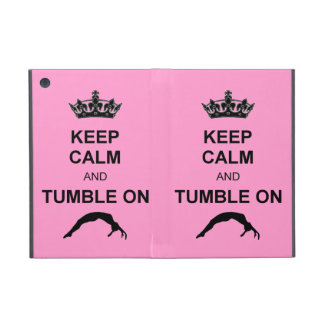 Keep calm and tumble gymnast case for iPad mini