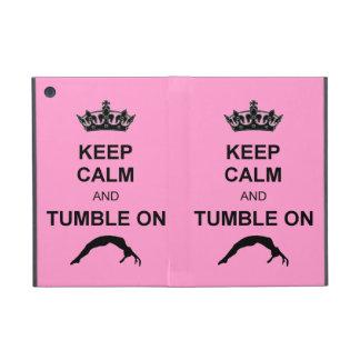 Keep calm and tumble gymnast case for iPad mini