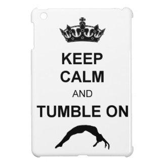 Keep calm and tumble gymnast iPad mini case