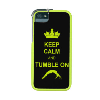 Keep Calm and Tumble on iPhone 5/5S Case