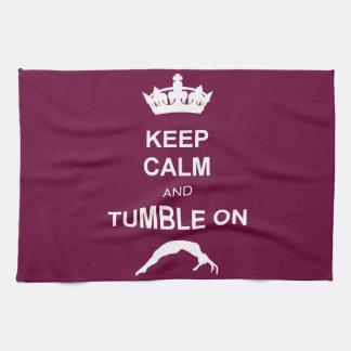 Keep Calm and Tumble on Towel