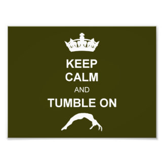 Keep calm and tumble photo