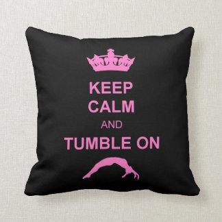 Keep Calm and Tumble Pillows