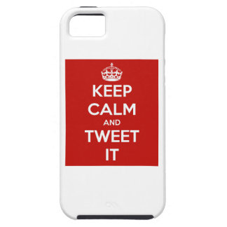 Keep Calm and Tweet It iPhone 5 Covers