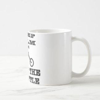 Keep Calm And Twist The Throttle Biker Coffee Mug