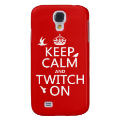 Case-Mate Barely There Samsung Galaxy S4 Case with Keep Calm and Twitch On design
