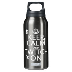 SIGG Thermo Bottle (0.5L) with Keep Calm and Twitch On design
