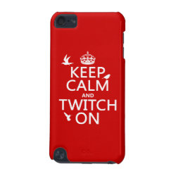 Case-Mate Barely There 5th Generation iPod Touch Case with Keep Calm and Twitch On design
