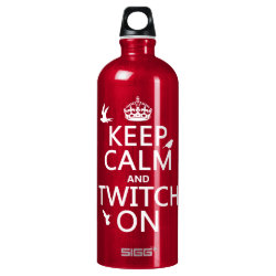 SIGG Traveller Water Bottle (0.6L) with Keep Calm and Twitch On design