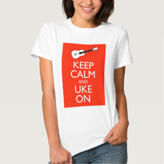 Keep Calm and Uke On! T-Shirt