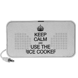 KEEP CALM AND USE THE RICE COOKER PC SPEAKERS