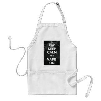 Keep Calm and Vape On Adult Apron