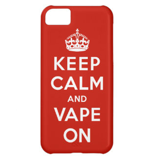 Keep Calm and Vape On Case For iPhone 5C