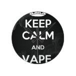 Keep Calm and Vape On Clock