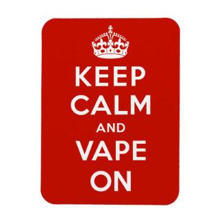 Keep Calm and Vape On Magnets