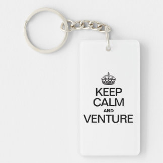 KEEP CALM AND VENTURE KEY CHAINS