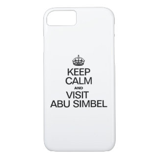 KEEP CALM AND VISIT ABU SIMBEL iPhone 7 CASE