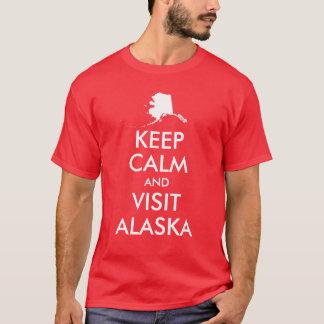 Keep Calm and Visit Alaska Shirt