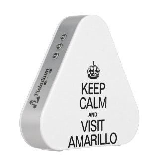 KEEP CALM AND VISIT AMARILLO SPEAKER