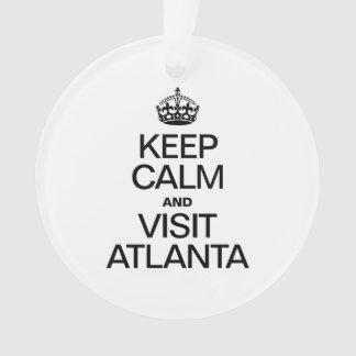 KEEP CALM AND VISIT ATLANTA