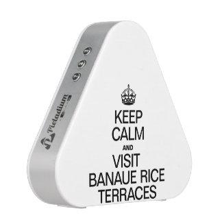 KEEP CALM AND VISIT BANAUE RICE TERRACES SPEAKER