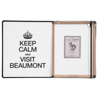 KEEP CALM AND VISIT BEAUMONT COVERS FOR iPad