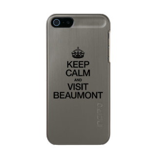KEEP CALM AND VISIT BEAUMONT INCIPIO FEATHER® SHINE iPhone 5 CASE