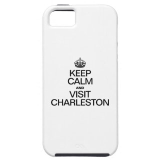 KEEP CALM AND VISIT CHARLESTON iPhone SE/5/5s CASE