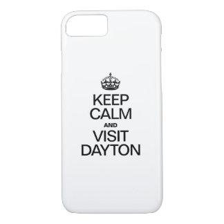 KEEP CALM AND VISIT DAYTON iPhone 7 CASE