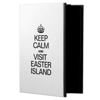 KEEP CALM AND VISIT EASTER ISLAND iPad AIR CASES