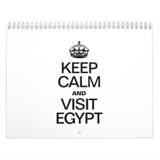 KEEP CALM AND VISIT EGYPT CALENDAR