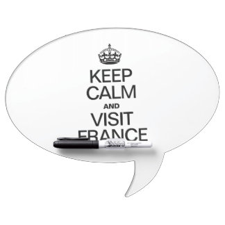 KEEP CALM AND VISIT FRANCE Dry-Erase BOARD