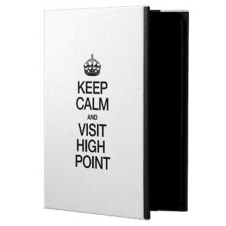 KEEP CALM AND VISIT HIGH POINT iPad AIR CASE