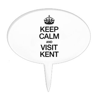KEEP CALM AND VISIT KENT CAKE TOPPER