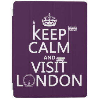 Keep Calm and Visit London iPad Cover