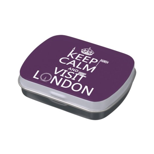 Keep Calm and Visit London Jelly Belly Tin