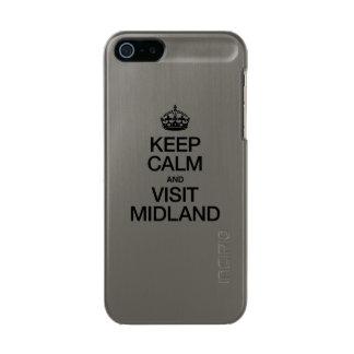 KEEP CALM AND VISIT MIDLAND INCIPIO FEATHER® SHINE iPhone 5 CASE
