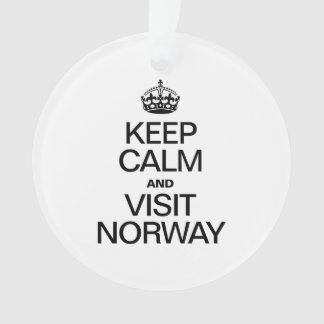 KEEP CALM AND VISIT NORWAY