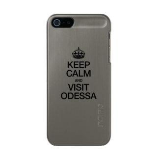 KEEP CALM AND VISIT ODESSA INCIPIO FEATHER® SHINE iPhone 5 CASE