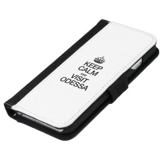 KEEP CALM AND VISIT ODESSA iPhone 6 WALLET CASE