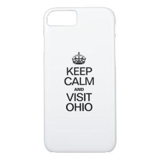 KEEP CALM AND VISIT OHIO iPhone 8/7 CASE