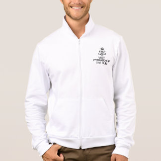 KEEP CALM AND VISIT PYRAMID OF THE SUN JACKET