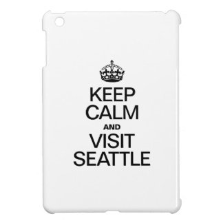 KEEP CALM AND VISIT SEATTLE CASE FOR THE iPad MINI