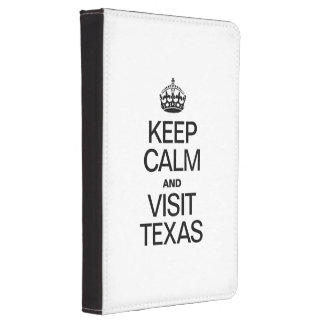 KEEP CALM AND VISIT TEXAS KINDLE 4 COVER