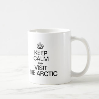 KEEP CALM AND VISIT THE ARCTIC COFFEE MUG