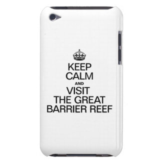KEEP CALM AND VISIT THE GREAT BARRIER REEF BARELY THERE iPod CASE
